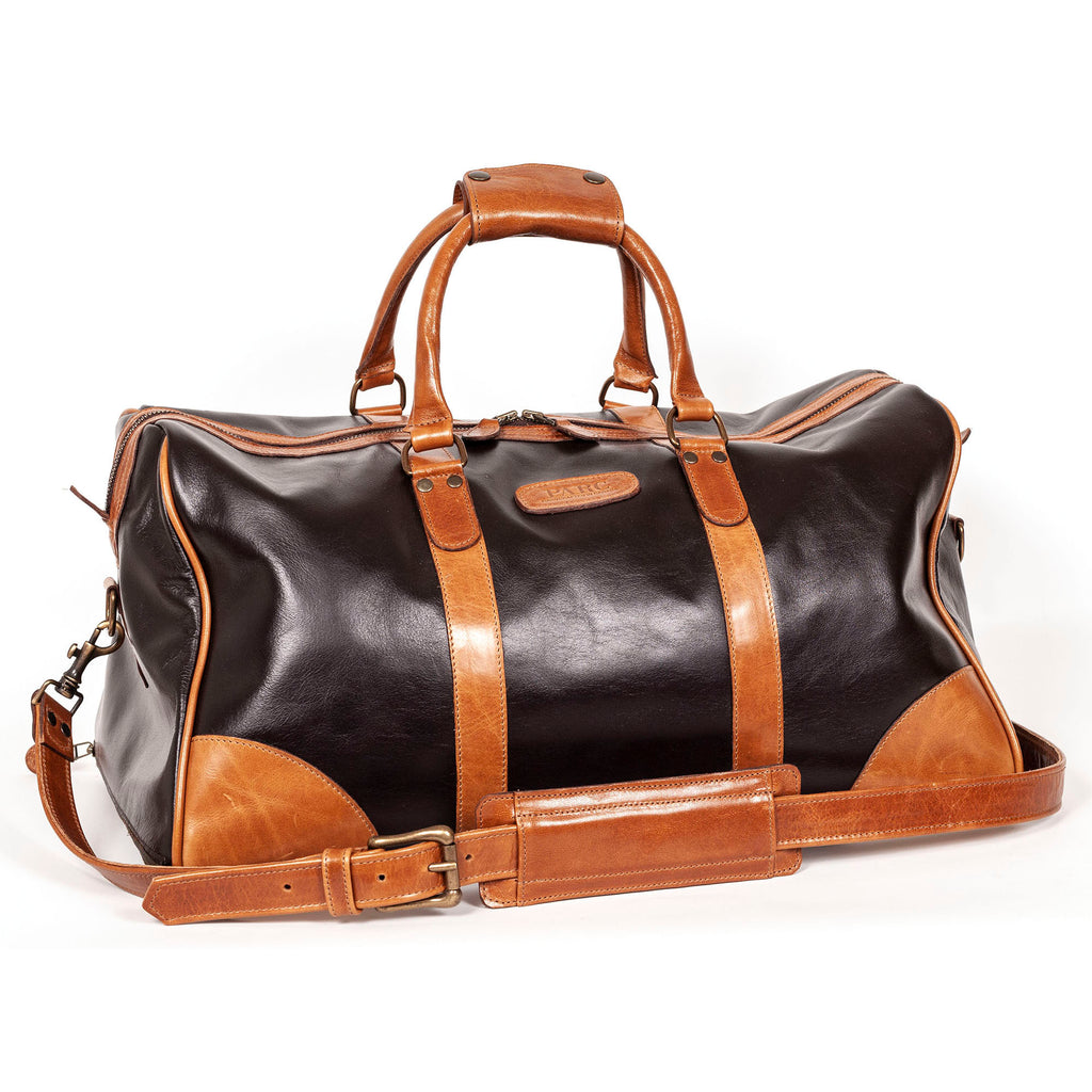 PARC Weekender Duffel in Brown/Cognac