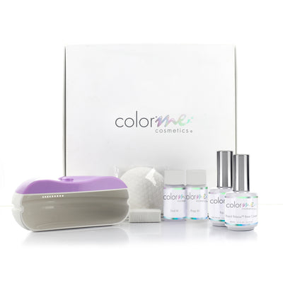 ColorMe Starter Kit, Gel Polish Starter Kit, DIY Gel Polish Kit, Gel Polish Lamp