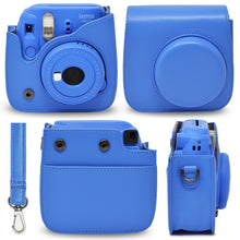Load image into Gallery viewer, Gift Geeks Camera Case for Fujifilm Instax mini 9 (Cobalt)