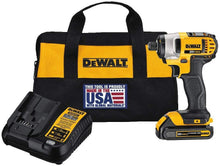 Load image into Gallery viewer, DEWALT DCF885C 20V MAX Impact Driver Kit, 1/4-Inch