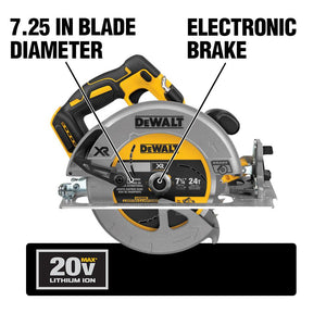 DEWALT DCS570B 20V MAX 7-1/4-Inch Circular Saw with Brake