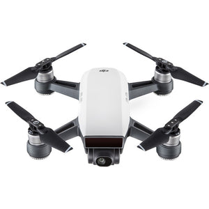 DJI Spark Quadcopter Drone - Alpine White - with Bonus Sandisk 32GB Micro SD & Carrying Case Starter Kit