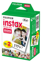 Load image into Gallery viewer, Fujifilm Instax Mini 9 Instant Film Camera - Cobalt - with Matching Personalized Case and 20 Sheets of Film Design Bundle