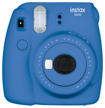 Load image into Gallery viewer, Fujifilm instax mini 9 Instant Film Camera (Cobalt Blue)