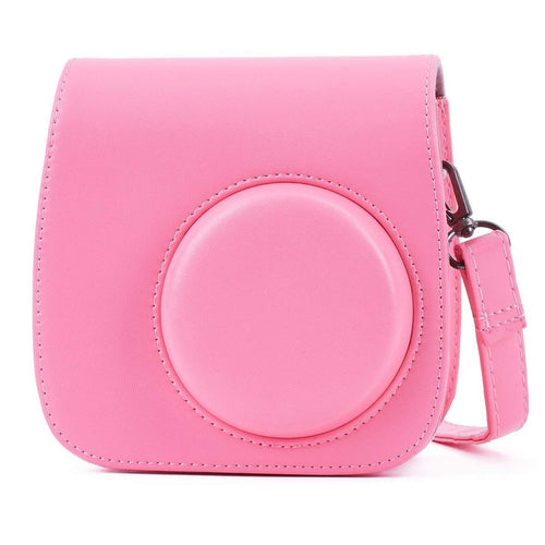 Gift Geeks Camera Case for Fujifilm Instax mini 9 (Flamingo Pink)