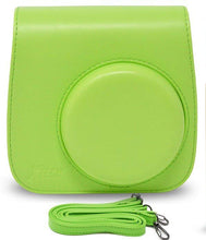 Load image into Gallery viewer, Gift Geeks Camera Case for Fujifilm Instax mini 9 (Lime)
