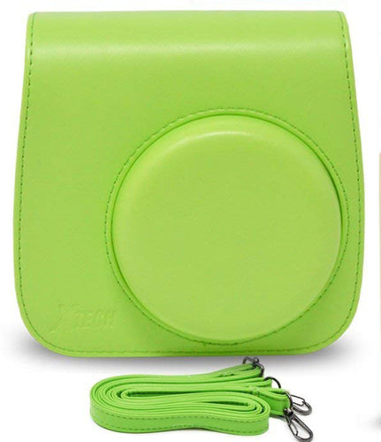 Gift Geeks Camera Case for Fujifilm Instax mini 9 (Lime)