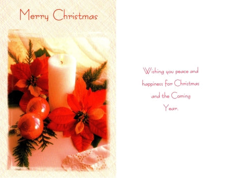 Merry Christmas Wishing You Peace . . .