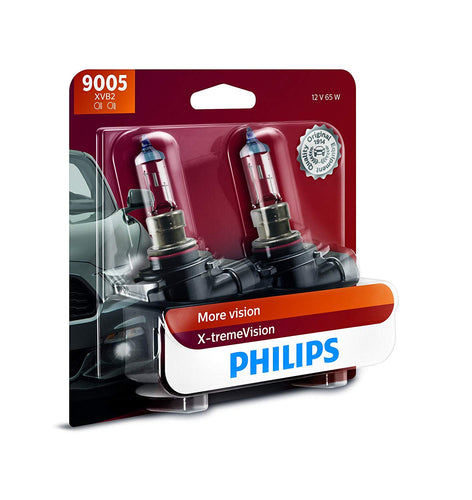 Philips 9005 XtremeVision Upgrade Headlight Bulb - 2 Pack