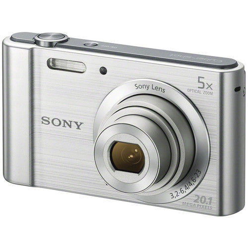 Sony Cyber-shot DSC-W800 Digital Camera (Silver)