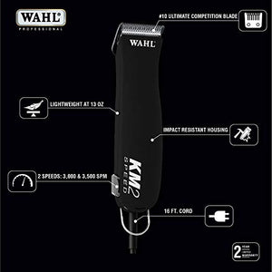 Wahl Professional Animal KM2 Equine Clipper Kit #9757-700