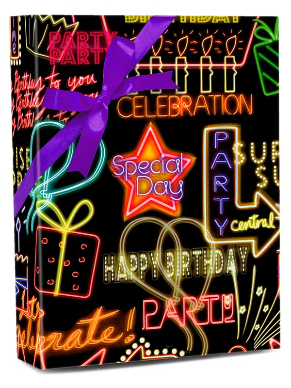 NEON BIRTHDAY SIGNS