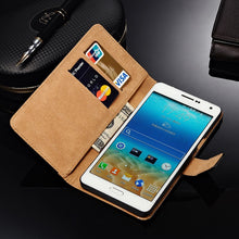 Load image into Gallery viewer, Leather Case For Samsung Galaxy A7 2016 A8 2015 J3 2016 Ace 4 Lite Grand Neo Wallet Style Mobile Phone Bags Cases Cover