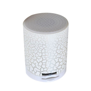 Mini Wireless Speaker Smart LED Music Stereo Luminous Speakers With TF Card Slot GDeals