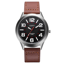 Load image into Gallery viewer, Male Fashion Pattern Quartz Watch Leather Strap Belt Table Watches