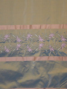 Taffeta Embroidered