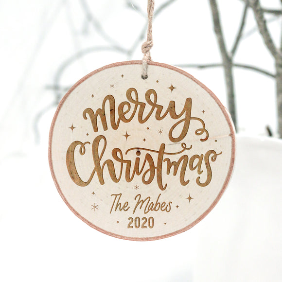 Merry Christmas 2020 Ornament