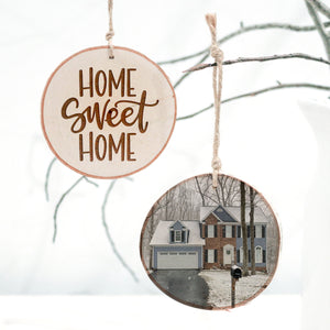 Home Sweet Home — Photo Ornament