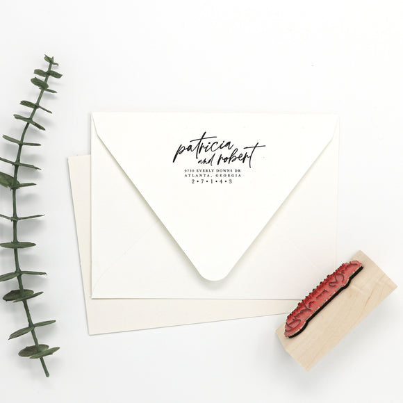 Custom Return Address Stamp — First Names
