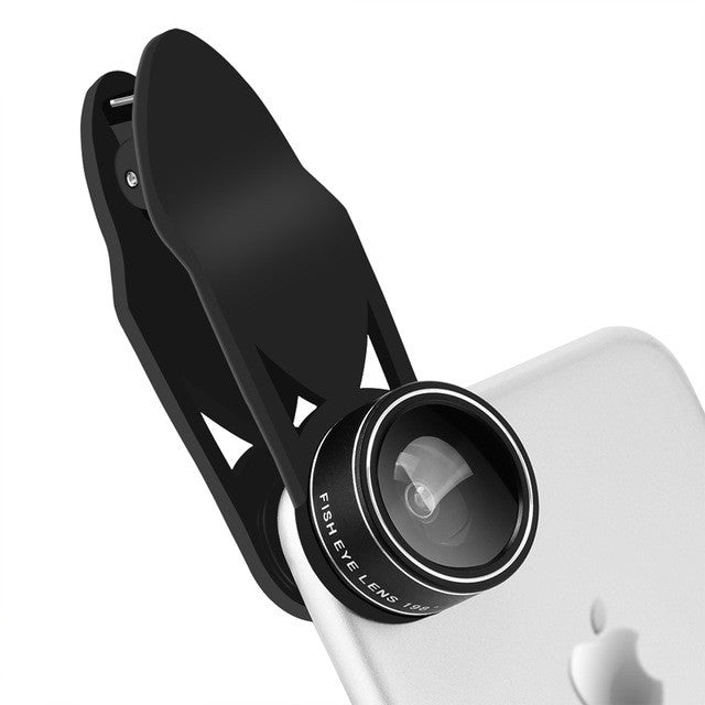 5 in 1 Clip-on Phone Camera Lens