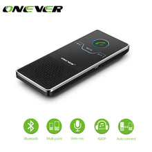 Load image into Gallery viewer, Universal Wireless Bluetooth Speakerphone Hands-free Car Kit