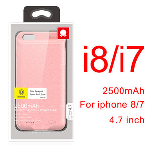 Battery Charger Case For iPhone 8 7