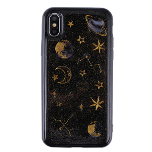 Glitter Sky Printed Cell Phone Case
