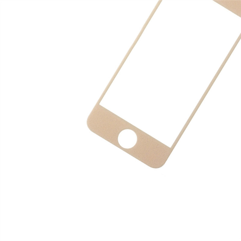Tempered Glass Screen Protector for iPhone 5/5S(Gold)