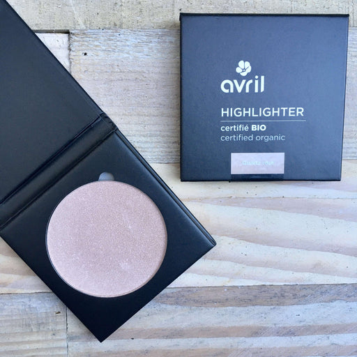 Avril - Økologisk Highlighter - Quartz Rose (11 g)