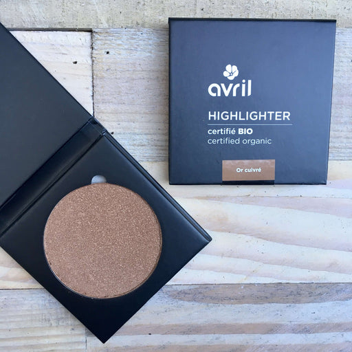 Avril - Økologisk Highlighter - Or Cuivre (11 g)