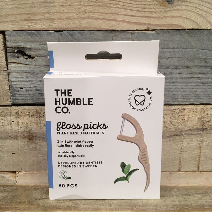 The Humble Co. - Tandharpe med Mint (50 stk)