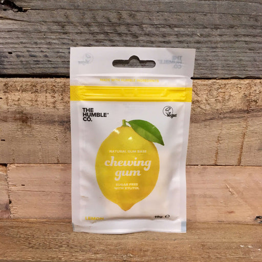 The Humble Co. - Naturlig Tyggegummi med Citron (12 stk)