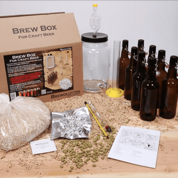 Brewolution - Brew Box med Micro All-Grain-Kit: Mosaic SMaSH IPA
