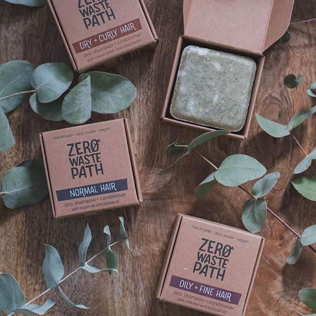 Zero Waste Path - Shampoo Bar 2-in-1 Itchy Scalp (70 g)