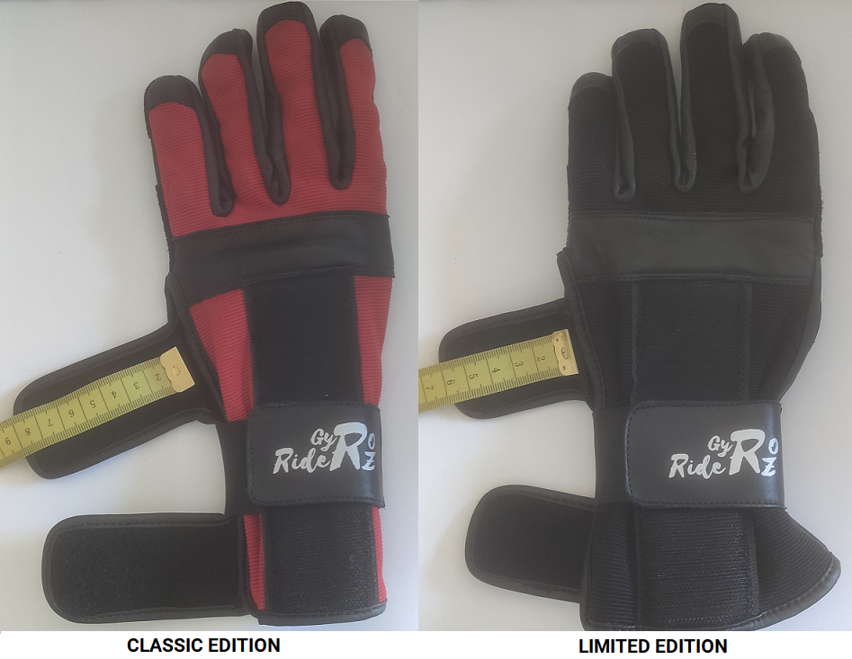 gyroriderz gloves classic and limited edition