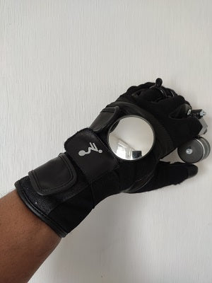 gyroriderz gloves v2 with mirror