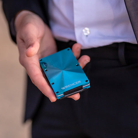 WRENCER SMART WALLET PORTE-CARTES FACE