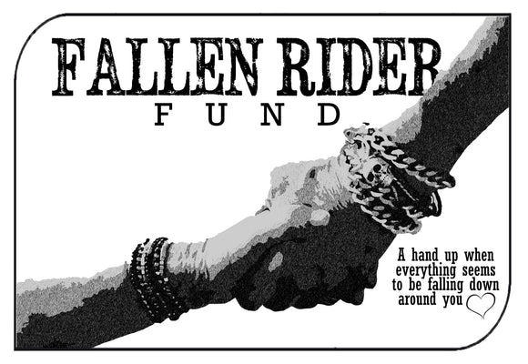 Individual Donate to Fallen Rider Fund