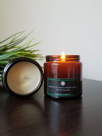 Mint Eucalyptus by Sophie Rose Candle Co.