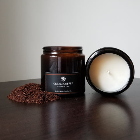 Cream Coffee by Sophie Rose Candle Co.