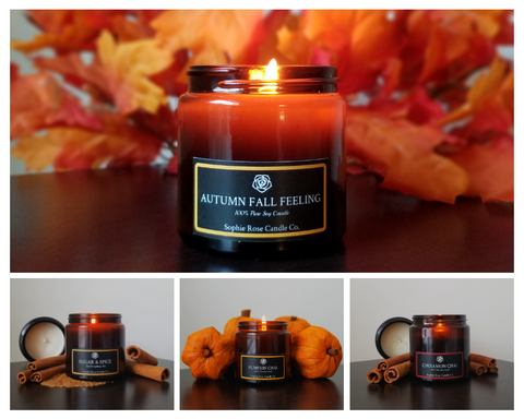 Fall Collection by Sophie Rose Candle Co.