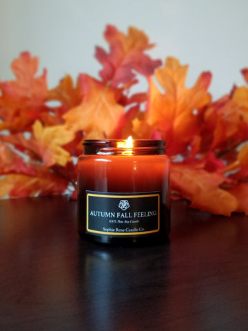 Autumn Fall Feeling by Sophie Rose Candle Co.