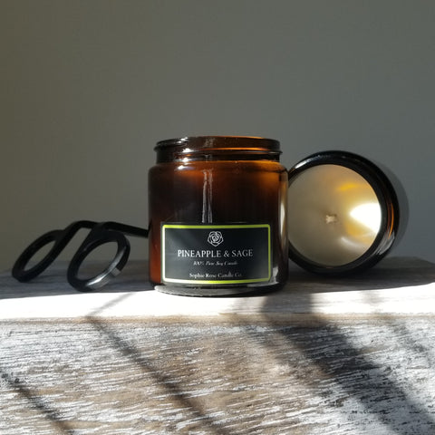 Pineapple & Sage by Sophie Rose Candle Co.