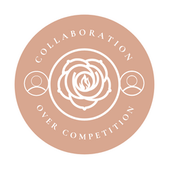 Collaboration Over Competition Sophie Rose Candle Co.