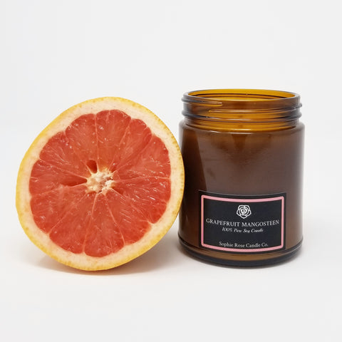 Grapefruit Mangosteen by Sophie Rose Candle Co.