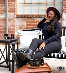 Sheree M. Founder + Creative Director of Sophie Rose Candle Co. The Village at PCM