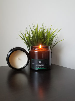 Mint Eucalyptus & Grassy Lemon by Sophie Rose Candle Co.