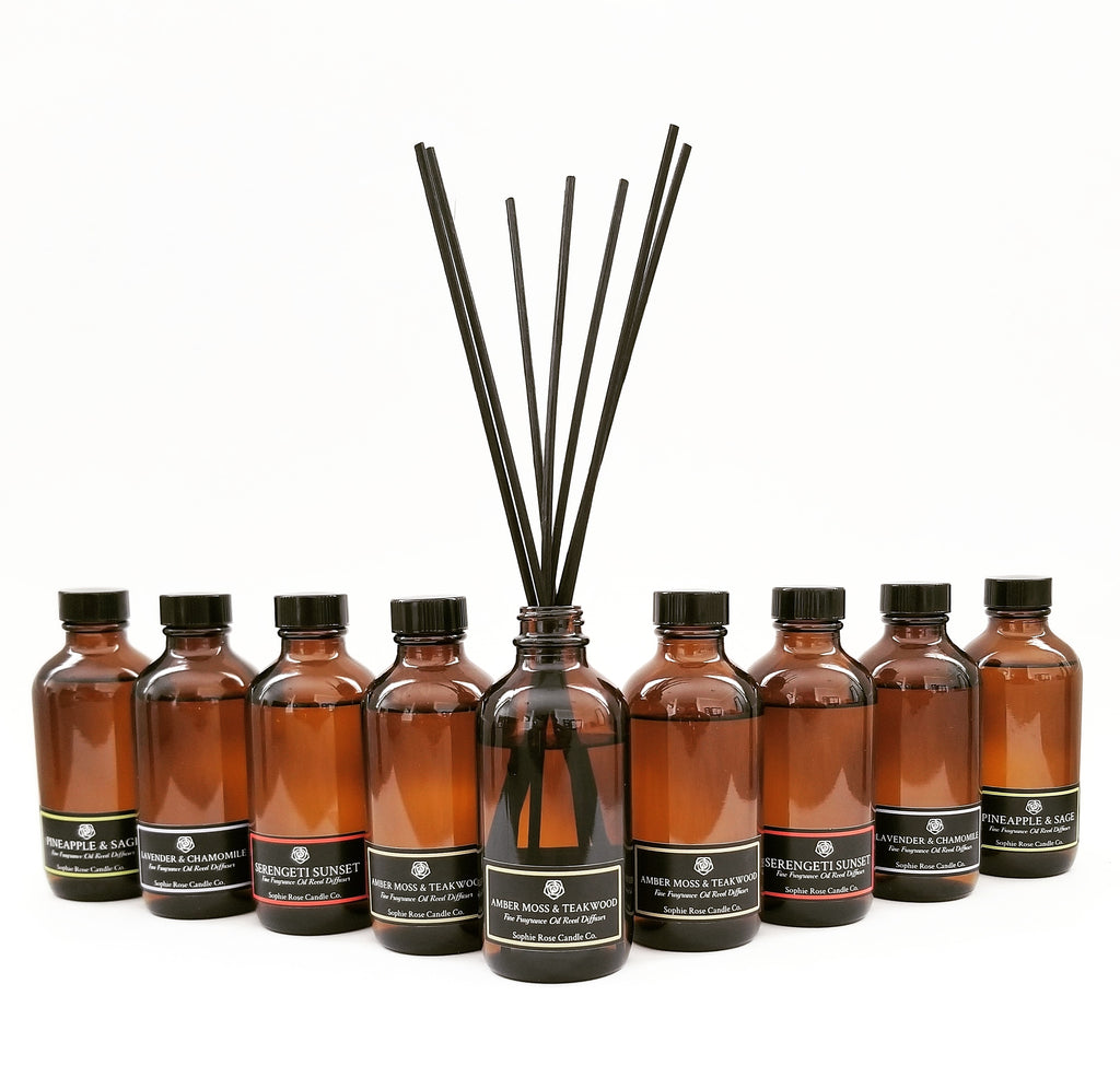 Fine Fragrance Oil Reed Diffusers