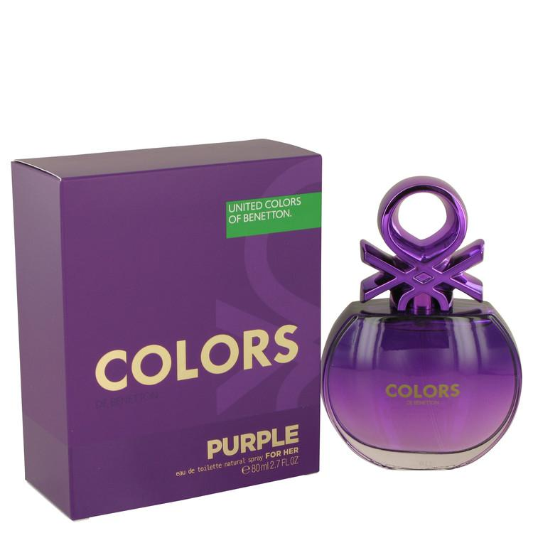 عطر United Colors Of Benetton Purple من بينيتون للنساء - او دو تواليت-عاطر