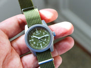 Seiko SUS Quartz (Green Military)